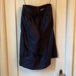 Phillip Lim linen navy dress with pockets